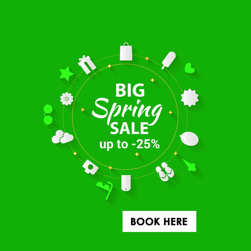 Big Springtime Special SALE