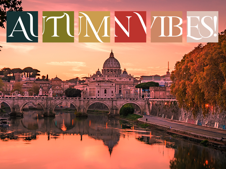 Beautiful,View,Over,St.,Peter's,Basilica,In,Vatican,From,Rome,
