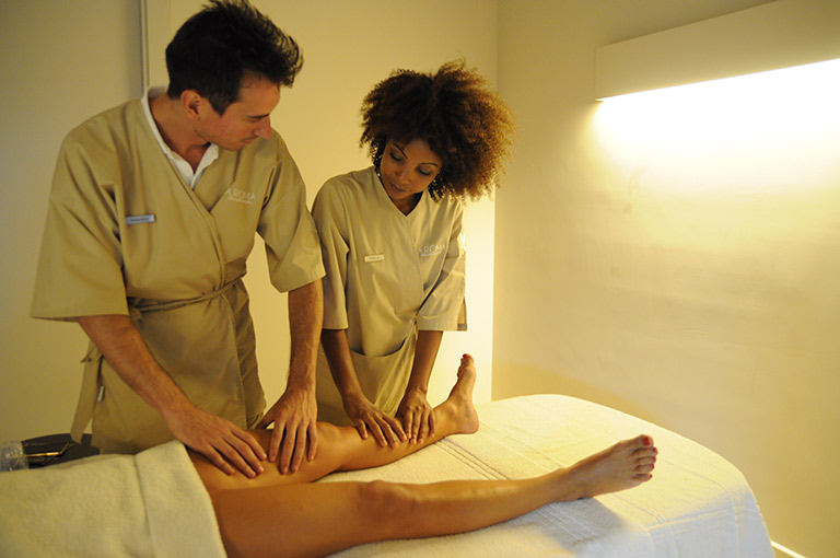 Massage Lessons at A.Roma SPA