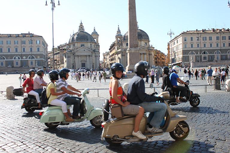Vespa Tour Of Romes Movie Sets