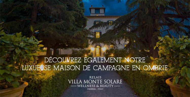 Villa Monte Solare - Luxueuse maison de campagne en Ombrie