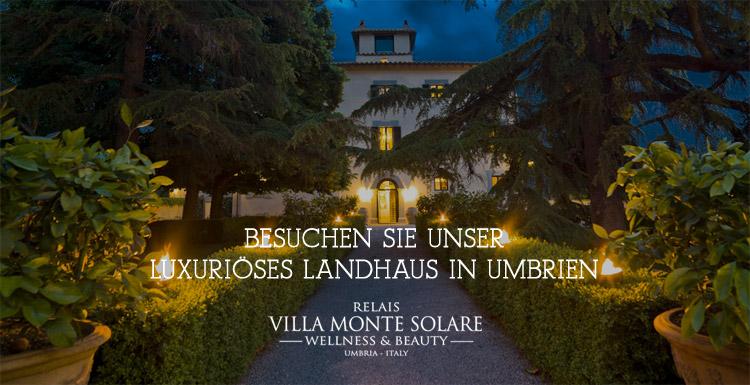 Villa Monte Solare - Luxuriöses Landhaus in Umbrien